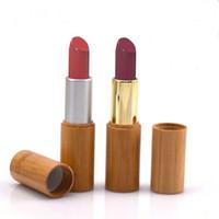 grade naturale contenitore cosmetici labbro 3ml 5ml di bambù rossetto tubo, 4g bambù labbro imballaggio rossetto tubo contenitore