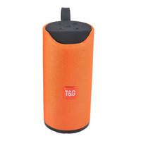 TG113 مكبر صوت سماعات بلوتوث لاسلكية مكبرات الصوت غير يدوي مكالمة الملف الشخصي ستيريو باس باس دعم TF USB بطاقة aux خط في مرحبا فاي بصوت عال