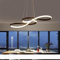 Minimalizm DIY Odası Bar süspansiyon Armatür suspendu Sarkıt Aydınlatma Fikstürü Yemek İçin Modern Led kolye ışıkları Asma