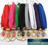 Billar bufandas joyas colgante envoltura resina con joyería de aleación de diamantes collar de joyería bufanda para mujeres 9 colores precio de fábrica experto diseño de calidad Último estilo original