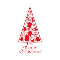 메리 크리스마스 창 벽 스티커 장식 포스터는 방수 크리스마스 트리 새해 홈 인테리어 JK2009XB를 데칼