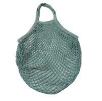 Shopping bags della rete della maglia String sacchetto riutilizzabile Tote di verdure della frutta bagagli borsa pieghevole Home Borse Grocery Tote Bag Knitting LJJA1335