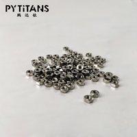 Высокое качество DIN 934 Гайка Titanium GR5 Ti6Al4V шестигранные гайки M2 по PYTITANS