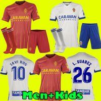 Men Bambini 2020 2021 Real Saragozza Shinji Kagawa Soccer Jersey 20 21 Home Zapater Camicia da calcio Vazquez Pombo Away Camiseta de Futbol