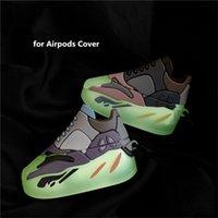 Aydınlık Etkisi Sevimli 3D Tasarım Ayakkabı Silikon Kılıflar Apple Airpods 12 Pro Kablosuz Kulaklık Koruyucu Kapak Kılıf İle Kanca için Kulaklık Çanta