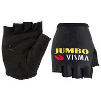 Hot Sale 2020 JUMBO VISMA PRO TEAM Cycling Bike Handschuhe Fahrrad Gel Stoß- Sport Half Finger Glove