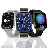 NO.1 DTX Smart Watch IP68 водонепроницаемый 1.78 дюйма красочный экран ECG сердечный монитор сердца VS DT78 DT35 SmartWatch для мужчин женщин