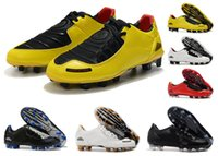 Hot-Klassiker der neuen Ankunfts-Männer Total 90 Laser I SE FG Fußballschuhe Top-Qualität Begrenzte 2000 Black Yellow Athletisch Fußballschuhe Größe 35-45