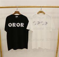 20SS Fosil Pringting Tee Tasarımcı Womens T Gömlek adam tişört Fransa Markalar Üst Kadın Tees Kısa Kollu T-shirt T-shirt Asya S-XXL e