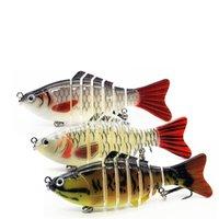 Piscifun atraer a la pesca 10cm 15,7 g 3D Ojos de 7 segmentos realista pesca duro del señuelo Crankbait Con 2 gancho de pesca Cebos Pesca Cebo