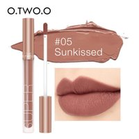 O.TWO.O Makeup Matte Lip Gloss Super Soft No Sticky Frau Sexy Red Brown Nude Lippenstift wasserdichte Lippenkosmetik