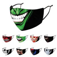 Design Mode Gesichtsmaske Cosplay Clown Cartoon Erwachsene Halloween-Party-Masken Maskerade für Erwachsene