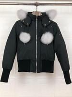 Kanada-Schere Short Down Jacket Bomberjacke Winter Kurz Designer Daunenjacke für Frauen Rot Weiß Schwarz Down Frau XS-XL