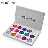 لوحة VERONNI بريق عينيه 15 لونا للماء طويلة الأمد عيون مستحضرات التجميل العلامة التجارية الجديدة الشحن قطرة