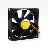 Para SUNON Nova 9225 KD1209PTS2 DC12V 2.5W velocidade de três fios de arrefecimento 90 milímetros ventilador 92 * 92 * 25 milímetros