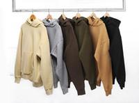 Новая уличная одежда Pullovers Rain Fleece негабаритные капюшоны поп-одежды спортивные толстовки мужчины хип-хоп