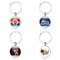 2020 Hotselling REELECT Trump Keyring Time Gem Keys Chain US...