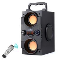 Speakers TOPROAD portátil Bluetooth Speaker 30W Big Poder baixo pesado Suporte Wireless Subwoofer Controle Remoto FM MIC TF AUX USB