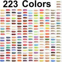 223 Цвета !! искусство ногтя UV Color Gel польский Выдержать- замочить от УФ для отверждения светодиодных ламп ONE STEP G Co 15 5 профессионального салона