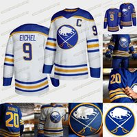 Buffalo Sabres 2020 21 Torna alla Royal Blue Jack Eichel Victor Olofsson Jeff Skinner Rasmus Ristolainen Rasmus Dahlin Montour SABRES Maglie