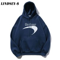 LINDSEY SEADER Harajuku Creative Toison Hoodies Casual pull avec capuche Sweat Streetwear 2020 Hauts Hommes Hoodie Mode