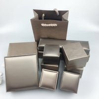 고급스러운 팔찌 상자, 목걸이 상자, 보석 상자 원래 포장, 보증 카드 인증서 플란넬 가방 핸드백, 선물 상자 도매