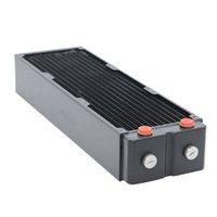 팬 냉각 Freezemod TSRP-65-360 360mm 컴퓨터 PC 워터 쿨러 황동 라디에이터 3 층 65mm 두꺼운 구리 핀 CPU 방열판