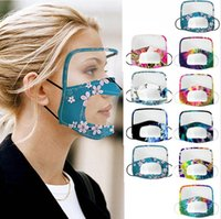 Visual Lip Language Mask Clear Protective Visible Eye Shield...