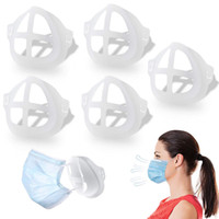 3D Mask Bracket Lipstick Protection Stand Nasal Mask Pad Inn...