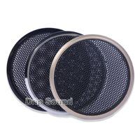 """مكبرات الصوت الكمبيوتر 2PCS ل 2 """"/ 2.5"""" بوصة المتكلم التحويل صافي غطاء سيارة الصوت زخرفية دائرة معدنية شبكة مصبغة"""