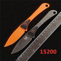 BENCHMADE BM 15200 ALTITUDE Straight knife outdoor camping E...