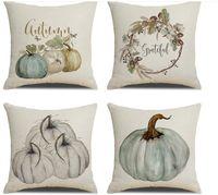Подушка благодарения Счастливая осень осень наволочки дома декор подушки подушки