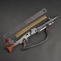 1 : 6 MG34 MG42 MP44 98K 자동 라이플 기관총 모델 어셈블리 플라스틱 WWII 무기 1/6 군사 장난감