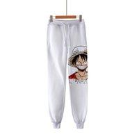 Аниме One Piece 3d печати Hip Hop Спортивная щиколоток брюки повседневные Sweatpants Фитнес Joggers Мужчины Брюки fz0869