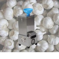 aço inoxidável seco Alho Peeling máquina Hotel Use Mini Alho Peeler Restaurante elétrica Alho seco Peeling máquina