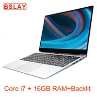 2020 NOVO CHEGADA 15,6 polegadas 1920 * 1080 IPS tela Núcleo DDR3 de 16GB 128G / 256G / 512G / 1TB SSD metal retroiluminado Windows 10 Laptop