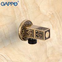 Control de Agua válvula de ángulo Gappo válvula del grifo antiguo Flush Brass Desviador WC Válvulas accesorios de control Bathroom Tap T200605
