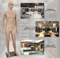 USA STOCK 73 pollici Manichino maschio Mannequin Full Body Dress Form Window Display Cosmetology for Abbigliamento Sarkeor Dressing Model W38112733