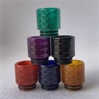 810 Snake Skin Resin Drip Tips for TFV8 TFV12 Big Baby with ...