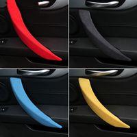 Alcantara für BMW Z4 E89 Auto-Innen Tuergriffabdeckung Armlehne Panel-ABS Auto-Aufkleber Interior Zubehör Dekoration 2009-2016