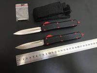 고품질 자동 칼 제다이 Elmax (새틴) 블레이드 핸들 6061 항공 알루미늄 전술 생존 기어 전투 야외 방위 포켓 자동