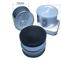 70x23mm 자기 인감 프레스 주석 없음 필요 없음 Pressitin Loop POP Top Semll Proof Ring Herb 맞춤형 스티커 라벨 용 커버
