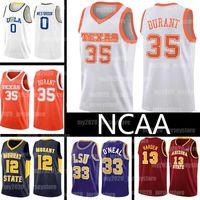 NCAA 7 Kevin 35 Durant Jerseys Texas Longhorns College 13 Harden Lebron 23 James Russell 0 Westbrook Shaquille JA 12 Ahlaki Oneal Basketbol
