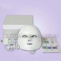 uso doméstico LED Máscara facial de fotones de energía de luz de la lámpara Terapia facial Cuidado de la piel belleza máquina rejuvenecimiento PDT contra el envejecimiento Acné Arrugas removel