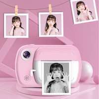 Film Cameras Children Camera Instant Print For Kids 1080P HD With Thermal Po Paper Toys Birthday Gifts