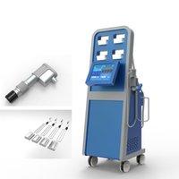 Accelerare la riduzione del grasso con il grasso Cryolipolysis congelamento e onda d'urto della macchina di terapia maniglia pad dispositivo cro