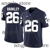 펜 스테이트 닛티니 라이온스 사춘기 26 Barkley American Football Jersey Ohio State Buckeyes Nick 97 Bosa University NCAA LSU Tiger Joe 9 Burrow