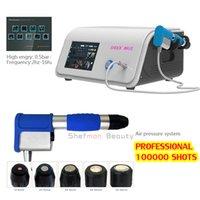 Factory Price Air Pressure Body Pain Removal ED Treatment Shockwave Therapy Physiotherapy Equipment Massage Gun Shock Wave