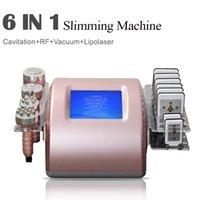 Многофункциональный Lipo лазерный ультразвуковой кавитийская кавитация для похудения Устройство жиров Ультрасовременная машина 40K Кавитационная обработка Уменьшить жир