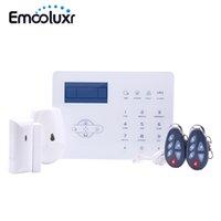 Alarmsysteme Spanische Sprache Wireless SIM GSM Home Burglar Security Alarma App Control LCD Touch Tastatur System Sensor Kit